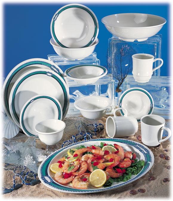 Freeport Themed Melamine Dinnerware