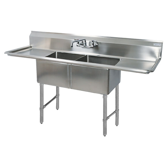 Pot & Dish Compartment Sinks
