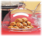 Clear Acrylic Gourmet Cover & Tray