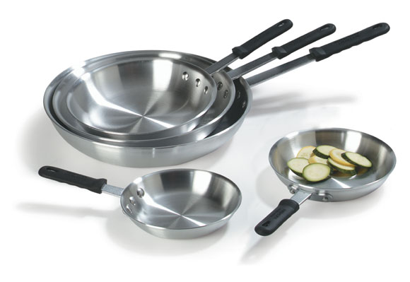 Uncoated Aluminum Fry Pans