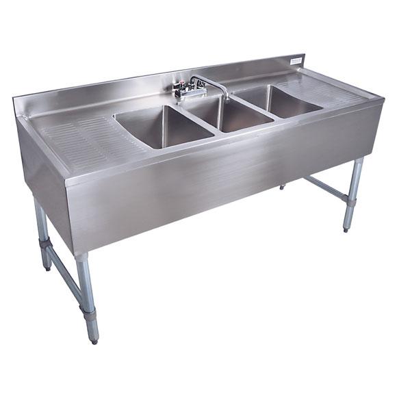 Kitchen & Utility Sinks - Under-bar Sinks