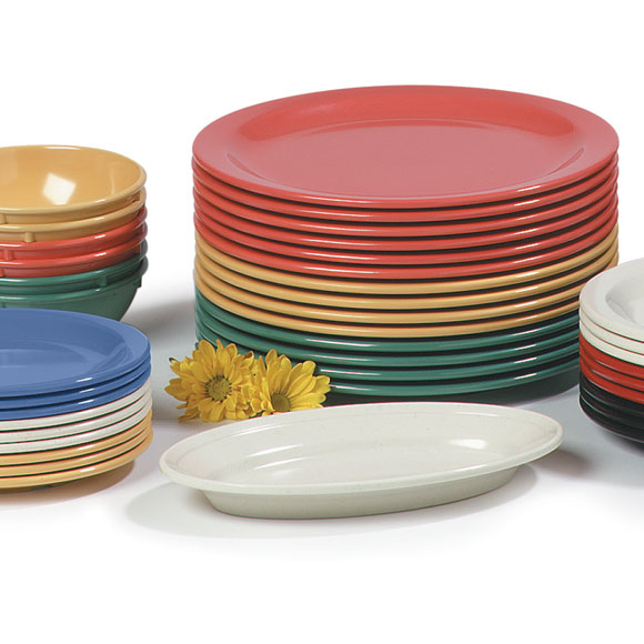 Carlisle Solid Color Melamine Dinnerware
