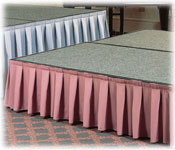 Platform & Stage Skirting