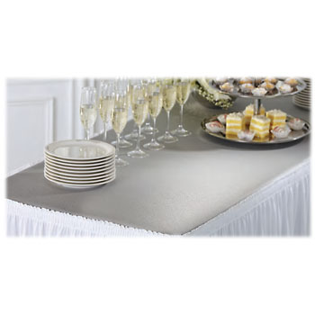 Restaurant Table Skirts National Hospitality Supply - Restaurant table toppers