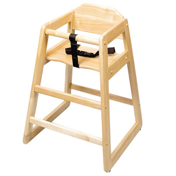Commercial Wooden High Chairs