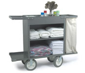 All-Metal Housekeeping Cart