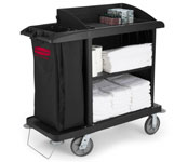 Rubbermaid X-tra Compact Housekeeping Cart