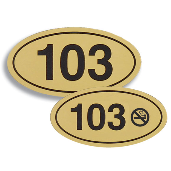 4x2 1 8 Engraved Room Number Signs