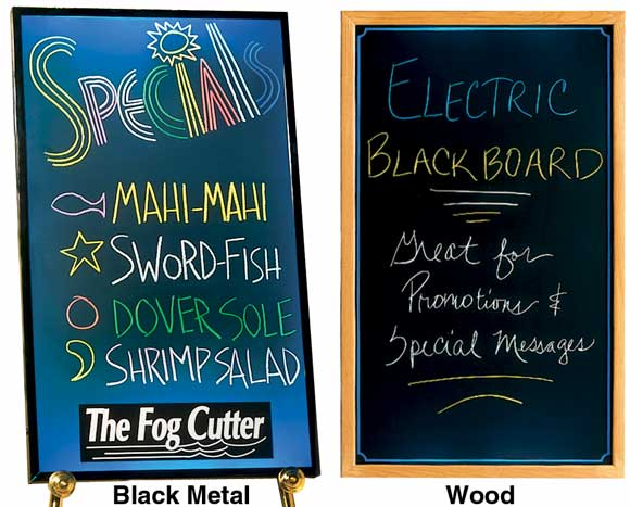 Electric Blackboards