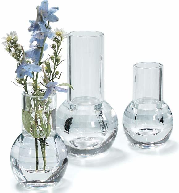 Acrylic Bud Vases Tabletop Display National Hospitality