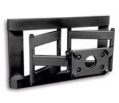 Universal Flat Panel Dual Arm Articulating Wall Mount