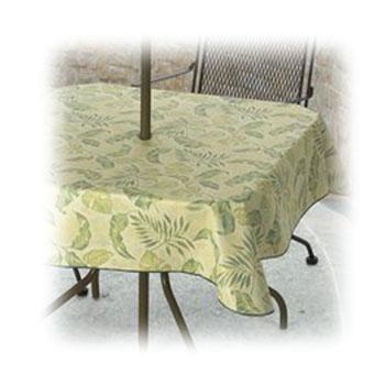 Vinyl Restaurant Tablecloths - 4, 8, 9 & 10 Gauge - Flame