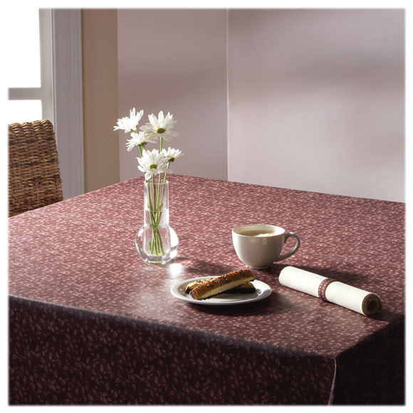 Flame Retardant 9 Gauge Vinyl Tablecloths