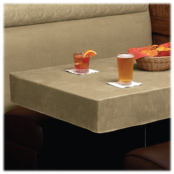 Flame Retardant Vinyl Tablecloths; 10 Ga.