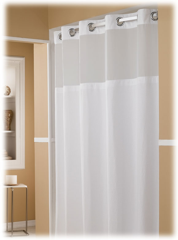 HOOKLESSR POLYESTER SHOWER CURTAIN Major