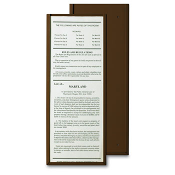 Hotel State Law Cards Amp Holders
