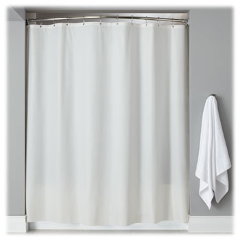 beige and white shower curtain. LodgMate Heavy Duty Vinyl Shower Curtains Hotel  National Hospitality Supply
