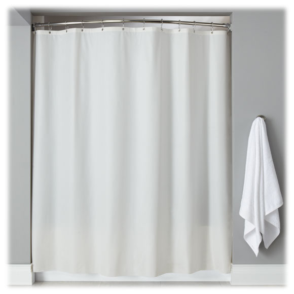 Lodgmate Vinyl Shower Curtains Hotel Shower Curtains