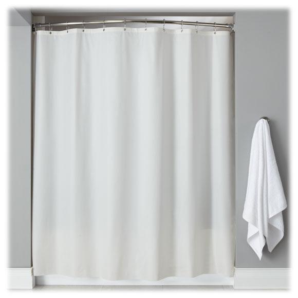 lodgmate vinyl shower curtains hotel shower curtains nat hosp. Black Bedroom Furniture Sets. Home Design Ideas