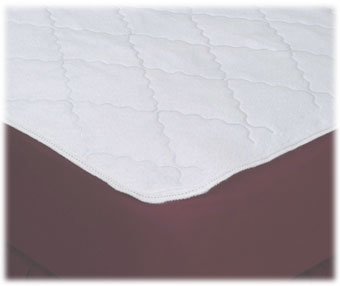 Waterproof Reversible Quilted Mattress Pads; Flat Style