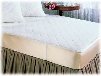 Quilted Mattress Pads; Flat Style