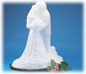 Bride & Groom Ice Sculptures