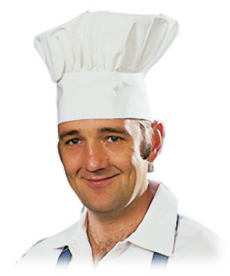 "7"" Chef Hat - 12/cs."