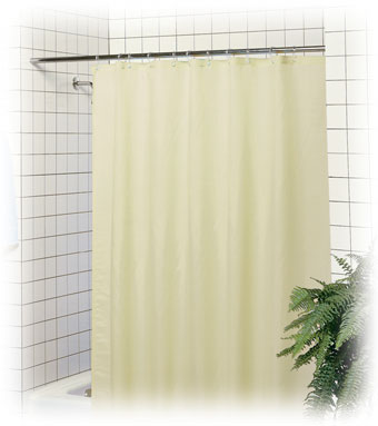 LodgMate Polyester Shower Curtains 2 Products