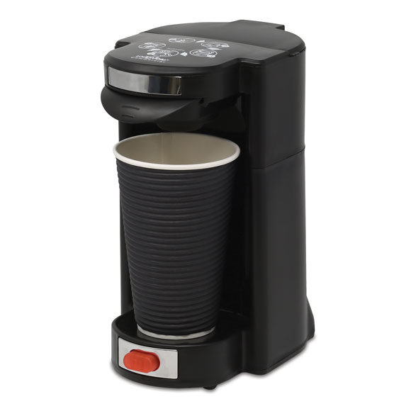 LodgMate Travel Size Pod Coffee Maker - 16 oz. Capacity