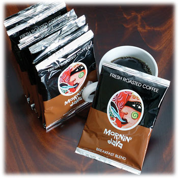 Mornin Java Coffee 4 Cup Coffee Pouches