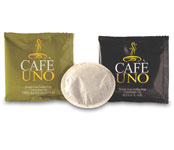 Cafe Uno 1-Cup Coffee Pods; 175/cs.