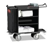 Rubbermaid Deluxe Metal Housekeeping Carts