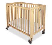 Hideawy Commercial Wood Folding Crib