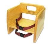 Stackable Wood Booster Seat