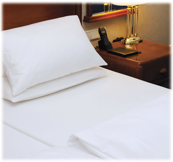 LodgMate Micro-Percale Micro-Fiber Sheets & Pillowcases