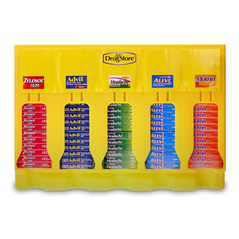 Lil' Drug Store 90 Pc. Pain Relief Display