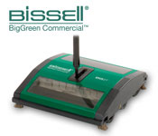 Bissell Sweeper With Dual Rubber Rotors