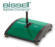 Bissell Sweeper With Dual Rotating Brushes