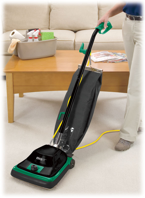 bissell big green commercial bg17 upright vacuum