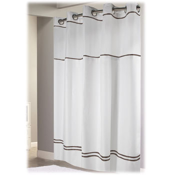 Escape 71x74 Hookless Shower Curtain