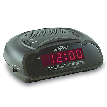 "LodgMate .6"" LED Clock Radio"