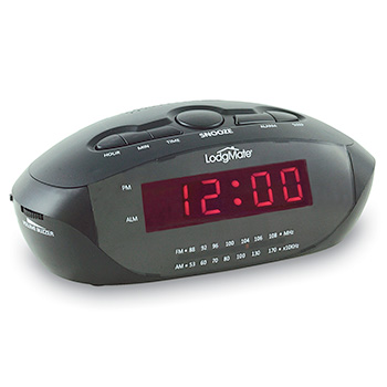 "LodgMate .9"" LED Clock Radio"