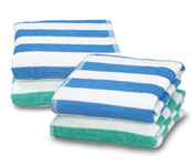 Island Beach Towels; 15 Lbs; dz.