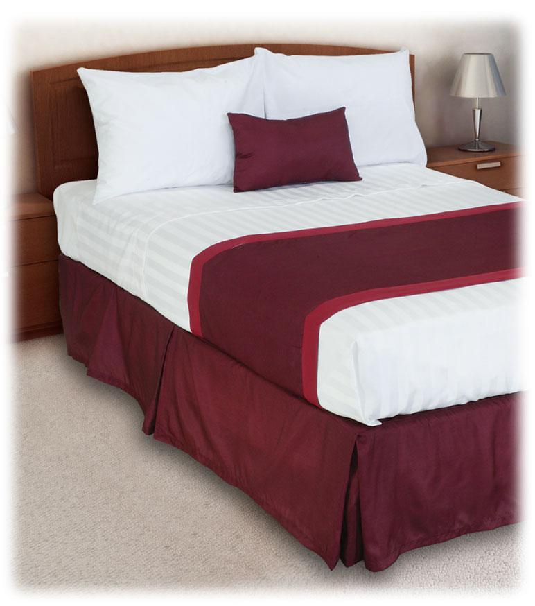 Tone on Tone Bedskirts