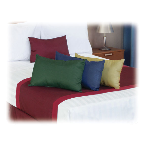 coordinating bed scarves bolster pillows national