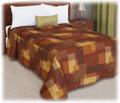 Trevira Quilted Polyester Bedspread Cornerstone
