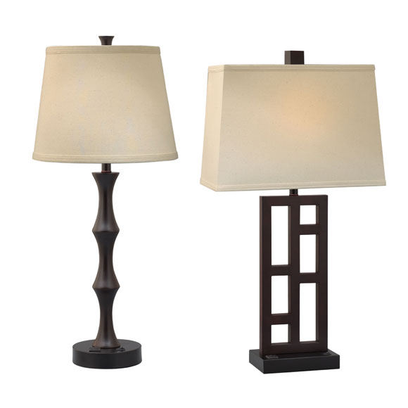 Espresso Urban Collection Lamps