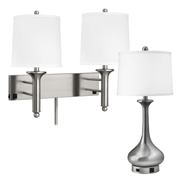 Brushed Steel Teardrop Collection