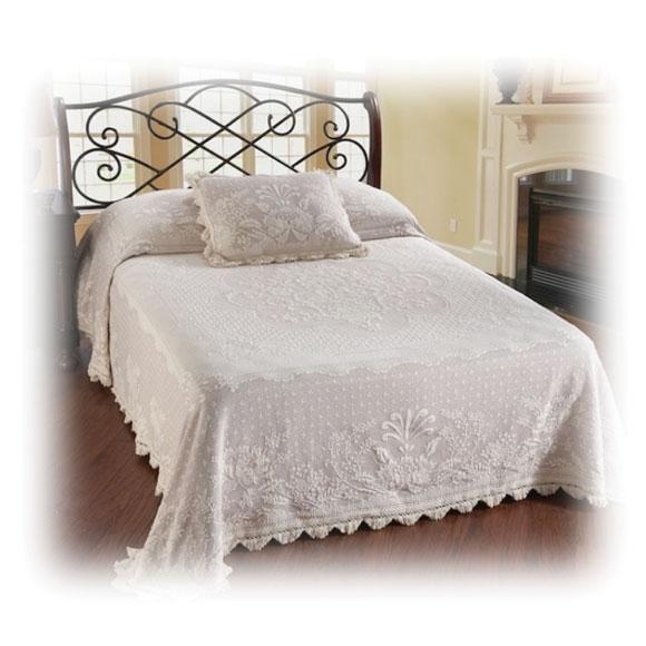 Abigail Adams Loom-Woven Bedspreads