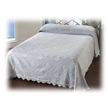 Cape Cod Loom-Woven Bedspreads